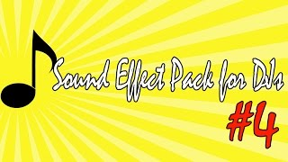 Well Sound Effects Pack # 4 - 2015 Sound Effect Radio Jingles - Dj Tools (Impacts, Rises Sweeps))