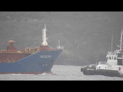 Oil/Chemical Tanker PATAGONIA heading A Coruña