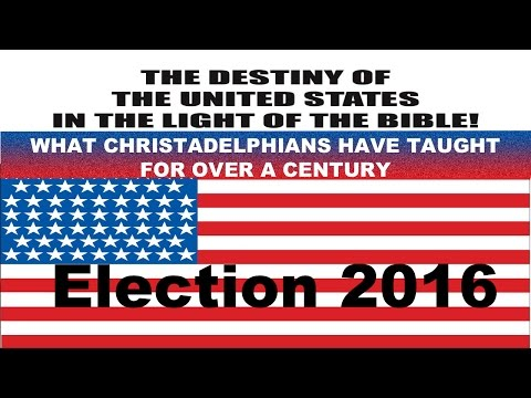 The Destiny of the United States in the Light of Bible Prophecy