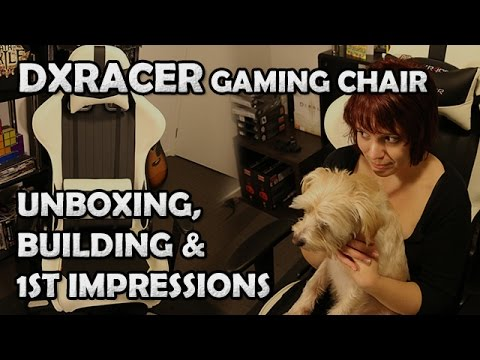 DXRacer Gaming Chair 1st Impressions, Unboxing And Assembly - Now Available In Australia!