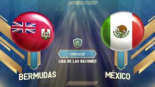 Bermudas 1-5 México | Concacaf Nations League