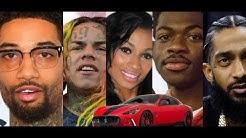 PNB Rock Diss 6ix9ine, Karlie Redd Reveals Real Age, TI Tribute Nipsey Hussle. Lil Nas Gift Maserati