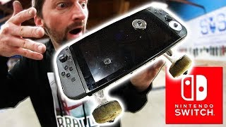 Скейтборд из приставки нинтендо свитч! (Incredible Nintendo Switch Skateboarding)