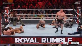 Royal Rumble match - WWE Royal Rumble 2017 Highlights HD