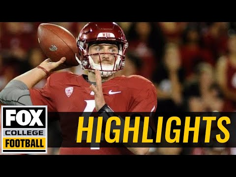 Montana State vs Washington State | Highlights | FOX COLLEGE FOOTBALL