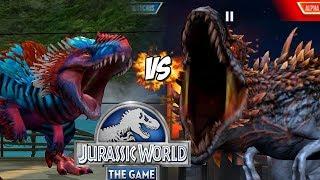 LUCHA DE DINOSAURIOS CARNIVOROS MAS FUERTES! YUDON VS REX BOSS!! // #JurassicWorld El Juego #194