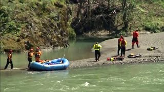 Woman's Body Found in River in Search for Missing Family