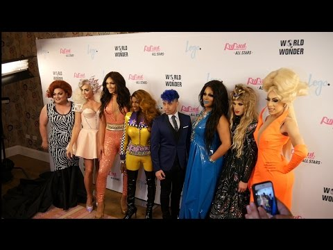 Adam with! The cast of RUPAUL'S DRAG RACE ALL STARS 2! (NYC Premiere)