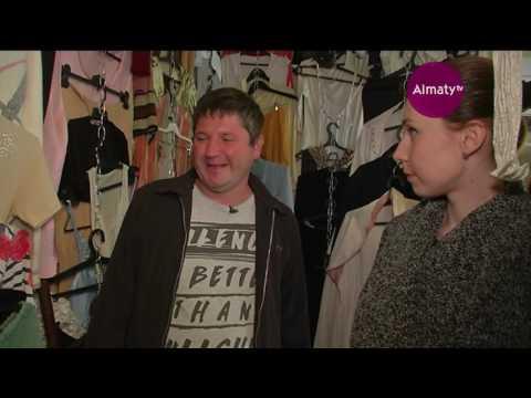 В Алматы работает бесплатный магазин одежды