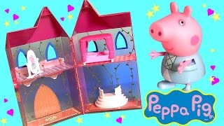 Princess Peppa Pig Enchanting Tower Once Upon a Time Fairy Tale Surprise Play-Doh Torre Encantada