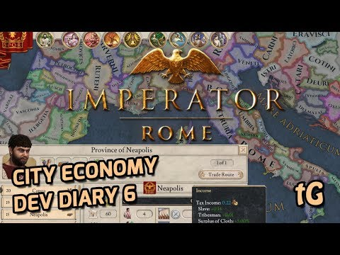 Imperator Rome Dev Diary #6 – City Economy: How Commerce, Citizens, Buildings etc. create income