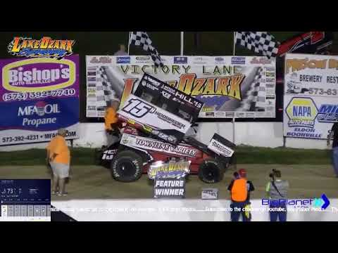 ASCS 360 Nationals Lake Ozark Speedway Replay