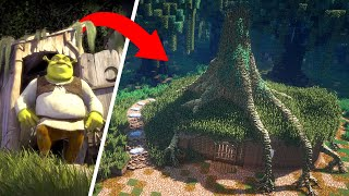 I Recreated SHREK In Minecraft In INSANE Detail