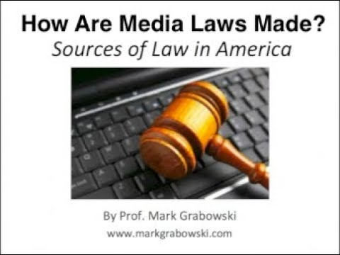 How media laws are made in America