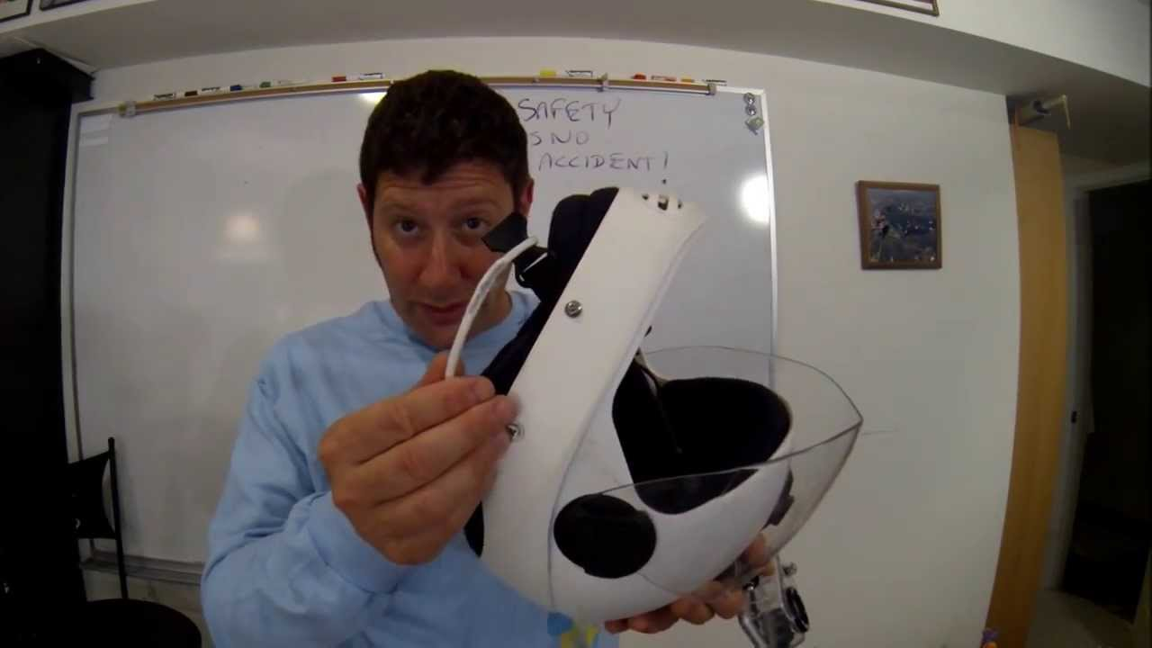 Safety First Tv Helmet Cutaway Idea For Fastex Buckle