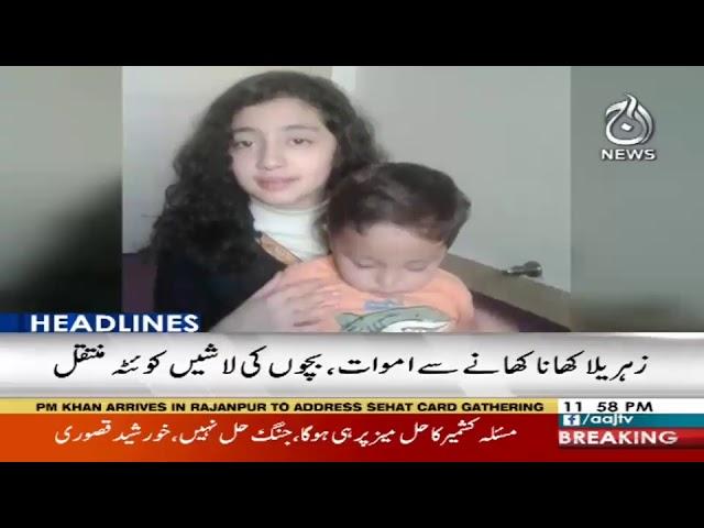 Headlines 12 AM | 22 February 2019 | Aaj News