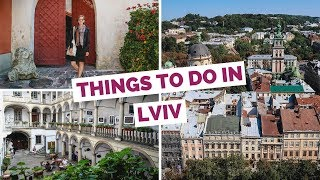 20 Things to do in Lviv, Ukraine Travel Guide