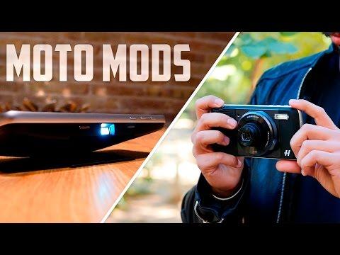 Moto Mods, Insta-Share y True Zoom de Hasselblad