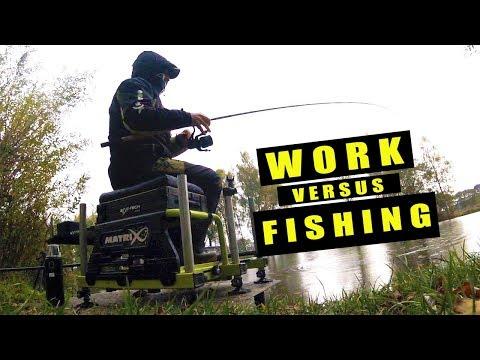 WORK VERSUS FISHING?!! Feeder fishing challenges through September 2018