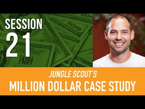 Jungle Scout's Million Dollar Case Study Session #21: Amazon Marketing Services Part 2/2 Live