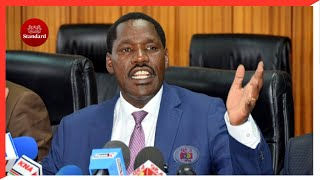 CS Peter Munya issues a one-month ultimatum for a forensic audit of all KTDA factories in Kenya