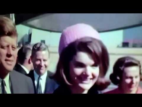 JFK at Love Field Dallas,Nov 1963, note Illuminati hand sign in crowd.