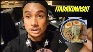 Your Pinoy tour guide at Hokkaido Ramen Santouka