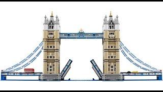 Brickagrams' Lego 10214 Tower Bridge Stop Motion Build