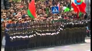 Четко отработанные движение солдат