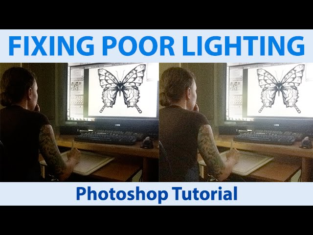 how to fix bad lighting with photoshop