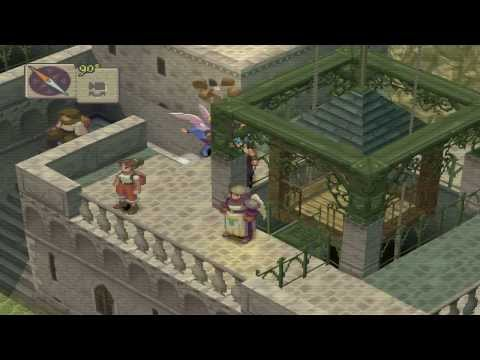 FINDING THE WIND ORACLE - Breath of Fire 4 Walkthrough Part 17 - [Chapter 2] [2013]