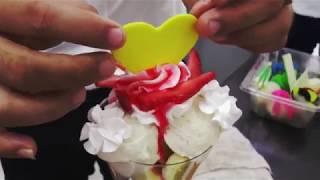 Hướng dẫn trang trí kem lạnh bắt mắt