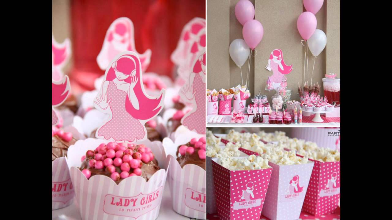 Birthday Party Themes Decorations Ideas For Tweens