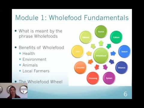 Wholefood Course Webinar 1