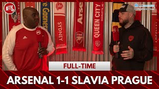 Arsenal 1-1 Slavia Prague | Poor, Feeble & Weak! (DT)