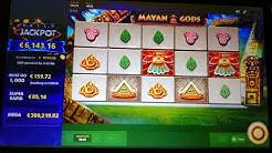 Online Casino Club Mayan Gods - Endlich mal was gewonnen - 4 Stunden Teil 1