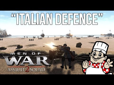 MEN OF WAR: ASSAULT SQUAD 2 - Italian Defence (Greece at War Mod)