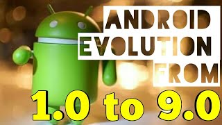 Android Evolution From G1 to Pie