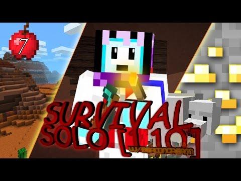 SUPER HOKI! MESA, MINESHAFT, GOLD RUSH   Minecraft GamePlay Indonesia [MC 1.10]   Episode 7