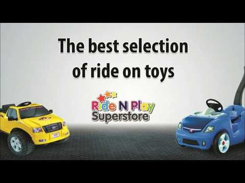 The Best Unique Ride On Toys - Cool Ride On Toys - RideNPlaySuperstore.com