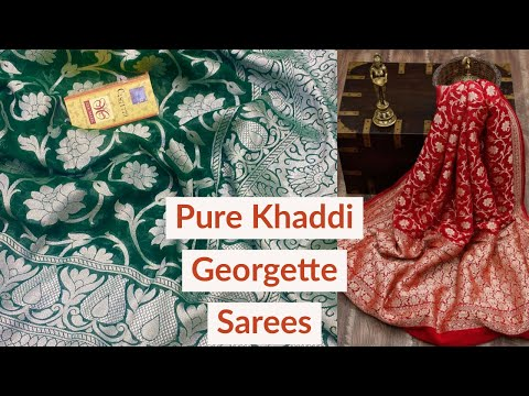 pure-khaddi-georgette-sarees---silver-zari-special-collection---#handloom_silk_sarees
