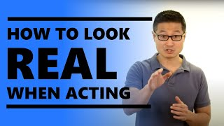 Acting Tip: Why you need to STOP acting