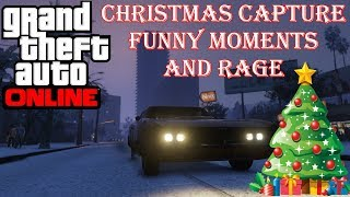 Grand Theft Auto 5 - Christmas Capture And Raging! (GTA 5 Funny And Random Moments)