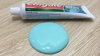 Toothpaste and Sugar Slime! How to make Slime with Toothpaste! 2 ingredients Slime! No Glu -2017
