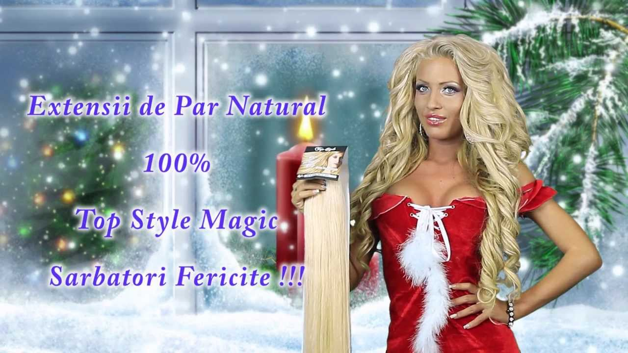 Extensii De Par Top Style Magic Recomandate De Loredana Chivu Youtube
