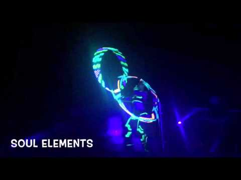 Eléctric party Palazzo Cancun 2015 led performance