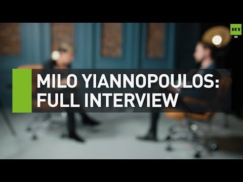EXCLUSIVE: RT speaks to Milo Yiannopoulos ahead of Day For Freedom rally
