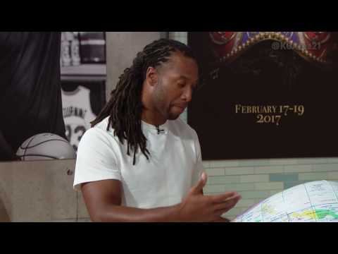 Area 21: Larry Fitzgerald on Globetrotting For Real | NBA on TNT