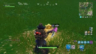 Fortnite - search between a playground campsite and footstep (week 6)