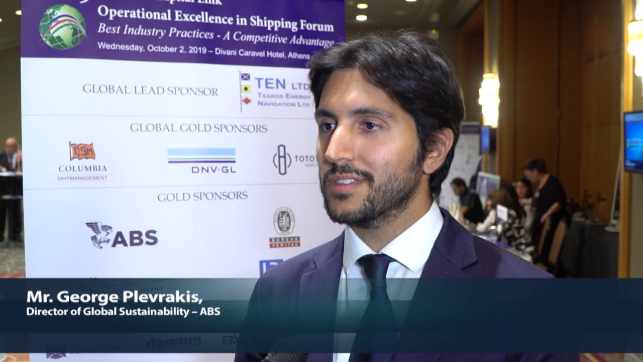 2019 9th Annual Operational Excellence in Shipping - George Plevrakis Interview - YouTube
